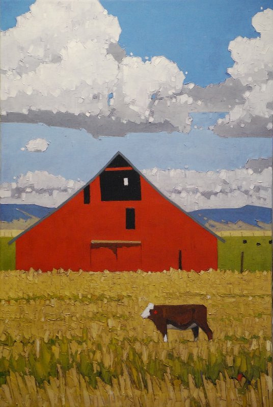 36X24 Cowhand