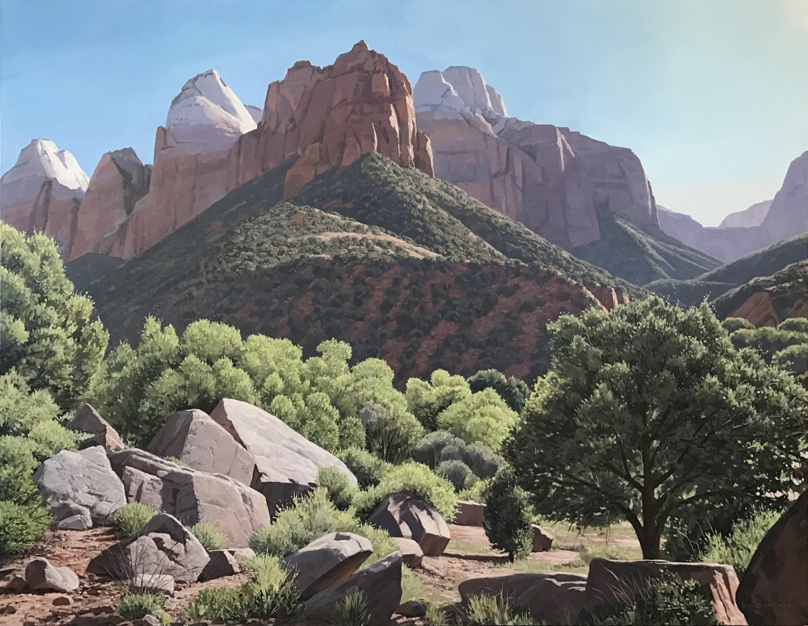 MEIKLE Zion Canyon, The East Temple 2017-min