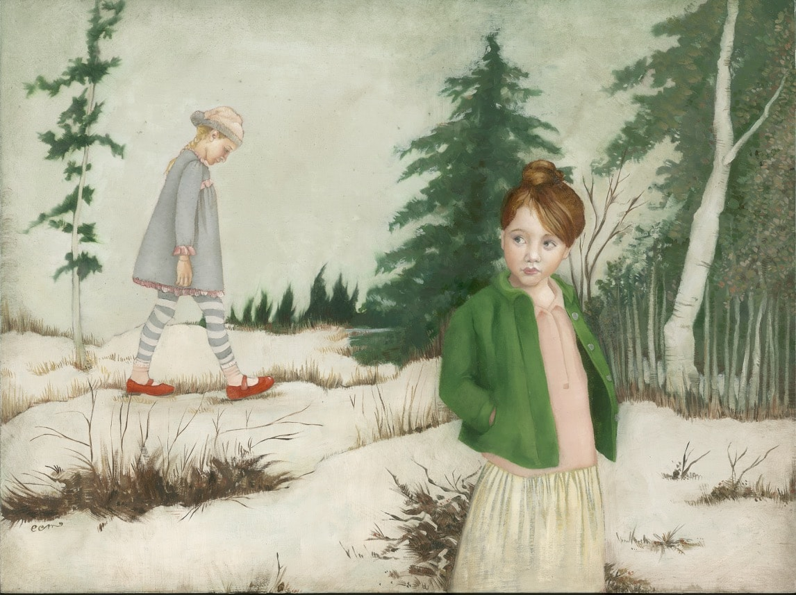 Emily McPhie - Forward March of Time: Winter - 12 x 16 - $1800