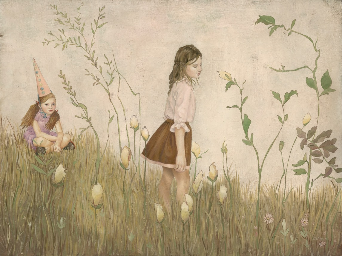 Emily McPhie - Forward March of Time: Summer - 12 x 16 - $1800